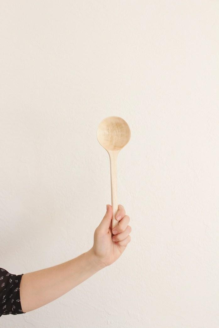 mango wood spoon