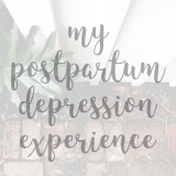 My Postpartum Depression Story