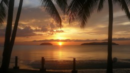 Borneo sunset