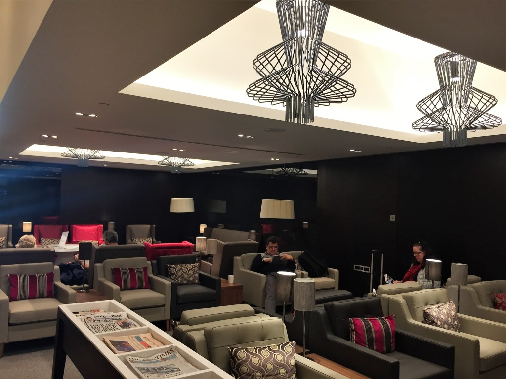 BA new club lounge gatwick south