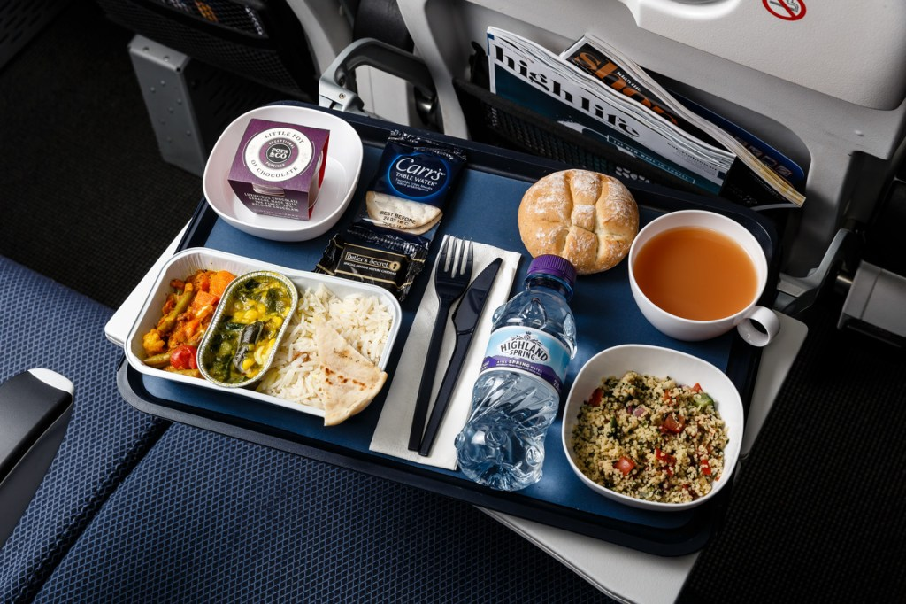 BA long haul economy meal changes food world traveller