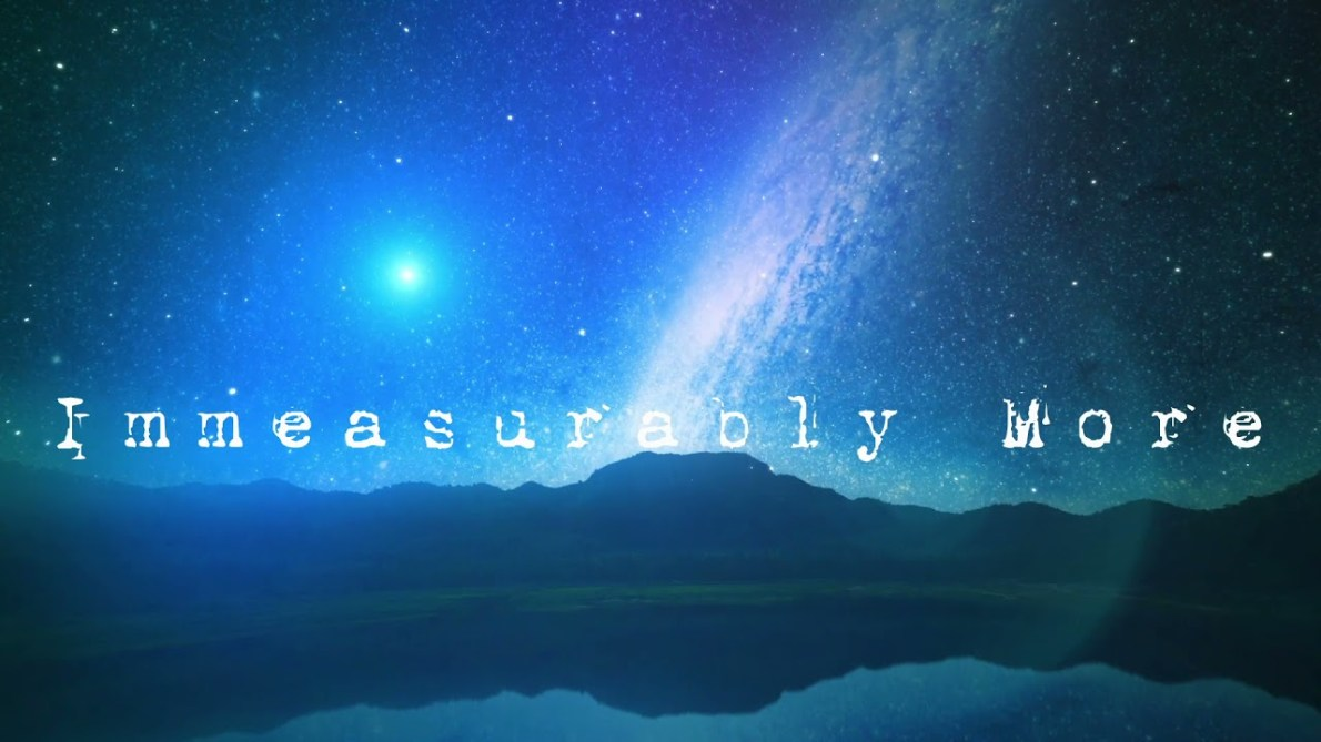 """For the Fatherless – """"Immeasurably More"""" Remix (Lyric Video)"""