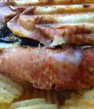 Turkey, Havarti and Bacon Panini