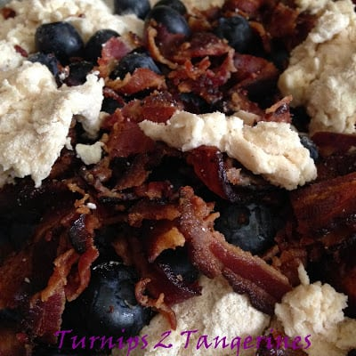 bacon blueberry