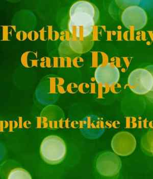 Apple Butterkäse Bites and Apple Pie Spice