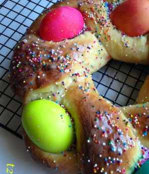 Easter Egg Bread An Easter Classic