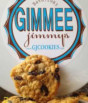 Gimmee Jimmy's Cookies