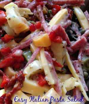 Easy Italian Pasta Salad Perfecto