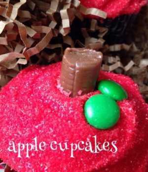 Easy Apple Cupcakes