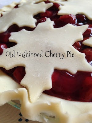 Old Fashioned Cherry Pie with Snowflake Crust | Turnips 2 ...