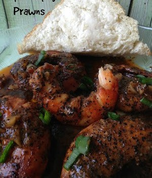 Hot and Spicy Prawns
