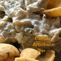 Caesar Artichoke Dip