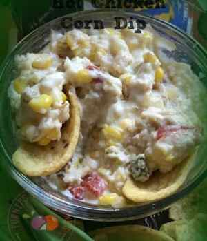 Hot Chicken Corn Dip Snack n' Pack