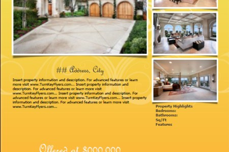 Real Estate Flyer Templates for MAC USERS      Turnkey Flyers Real Estate Flyer Templates for MAC USERS