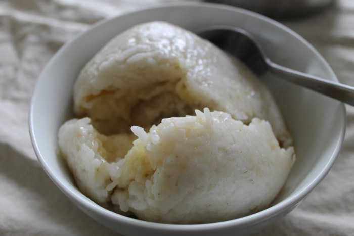 Carolina Snowballs, recipe from 1858