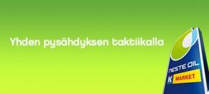 Suomalainen huoltoaseman mainoksessa on sama idea kuin Teoston toiminnassa