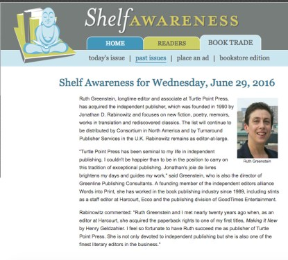 Shelf Awareness