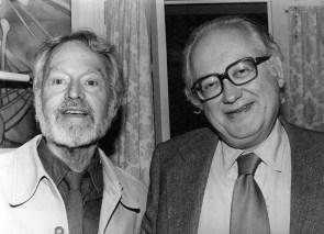 Charles Henri Ford and Alain Bosquet