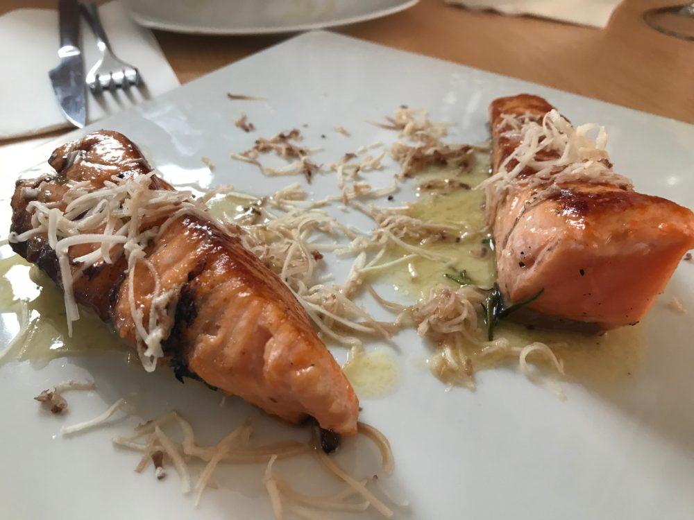 Salmon La Taberna del Rio