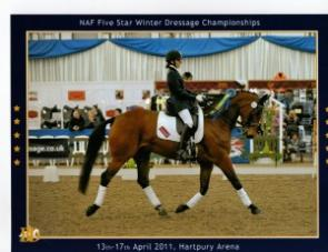 Joanna and Apollo at The Nationals 2011
