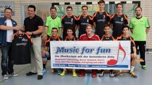 """Musikschule """"music for fun"""" ist neuer Trikotsponsor der A-Jugend"""