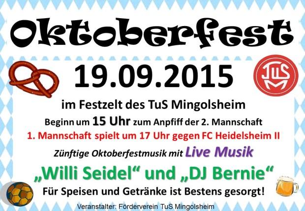 TuS Mingolsheim_Oktoberfest_2015