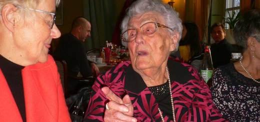 Else Wybierek • Gratulation zum 100. Geburtstag