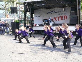 1. Mai mit dem TuS: Tanz-Vorführung