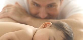 Padre y bebe