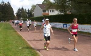 Sandra Messmer läuft auch die 10 km.