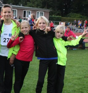 Die vier erfolgreichen Athleten   (Foto Archiv)