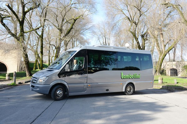 Coach and car hire for Tour in Lucca Tuscany Italy