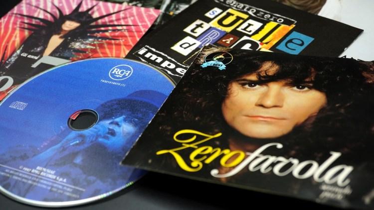 CD del cantante italiano Renato Zero