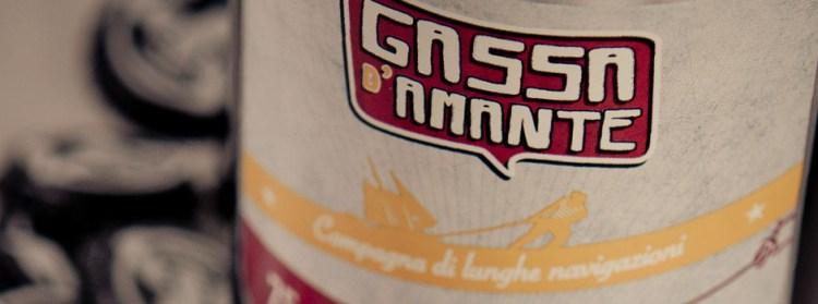 La Gassa d'Amante è la birra chiara del Birrificio il Forte di PIetrasanta che produce birra artigianale toscana