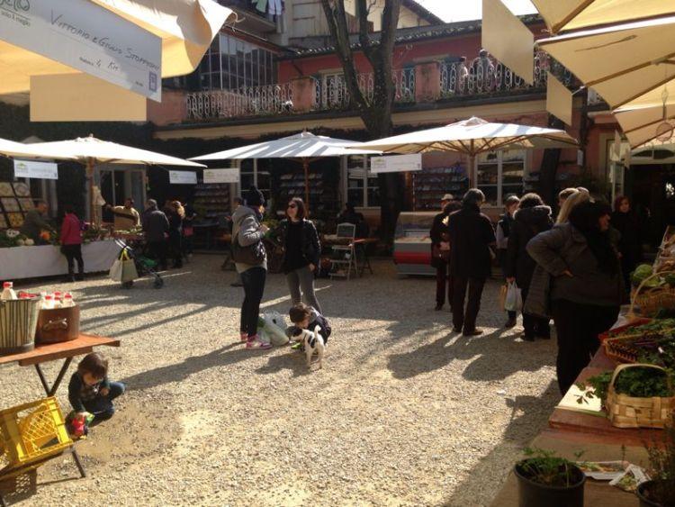 Ortobello è il mercato biologico organizzato a Firenze da Riccardo Barthel