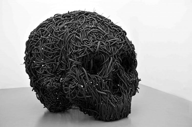 Paolo Grassino è uno degli artisti della galleria d'arte contemporanea Eduardo Secci Contemporary che ha inaugurato la sua nuova sede in via Maggio a Firenze,nello storico quartiere di Santo Spirito