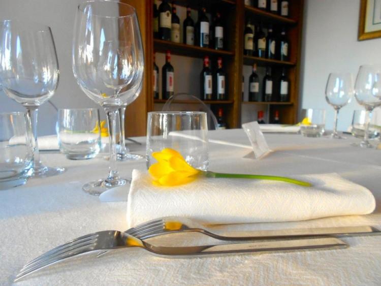 Il Country Resort Luxury Toscana Villa I Barronci vanta un ottimo ristorante ed una cantina di eccezione