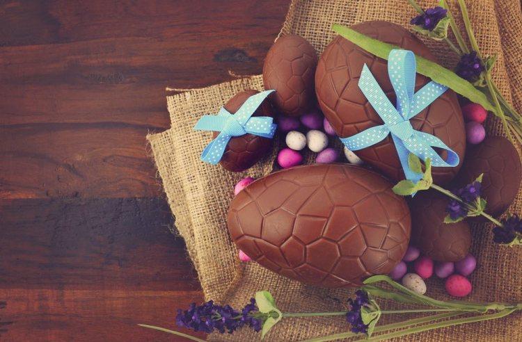 Uova d cioccolato artigianali