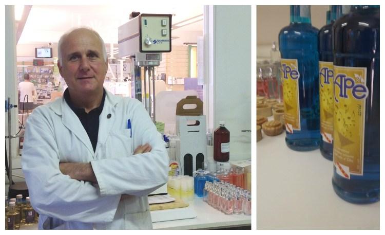 La farmacia Giusti a Porto Azzurro,Isola d'Elba, produce cosmetici e integratori naturali dalle sapienti mani del dottor Giusti, tutto made in Tuscany!
