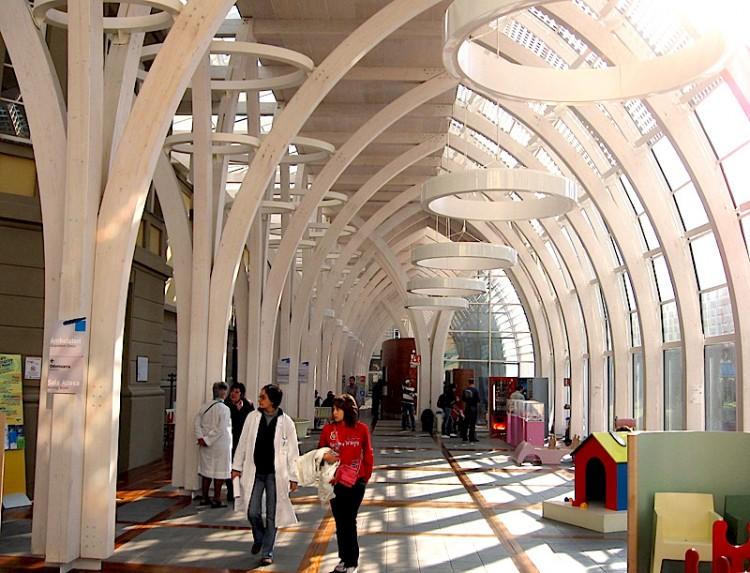 La nuova sede dell'Ospedale Meyr dopo il trasferimento a Villa Ognissanti