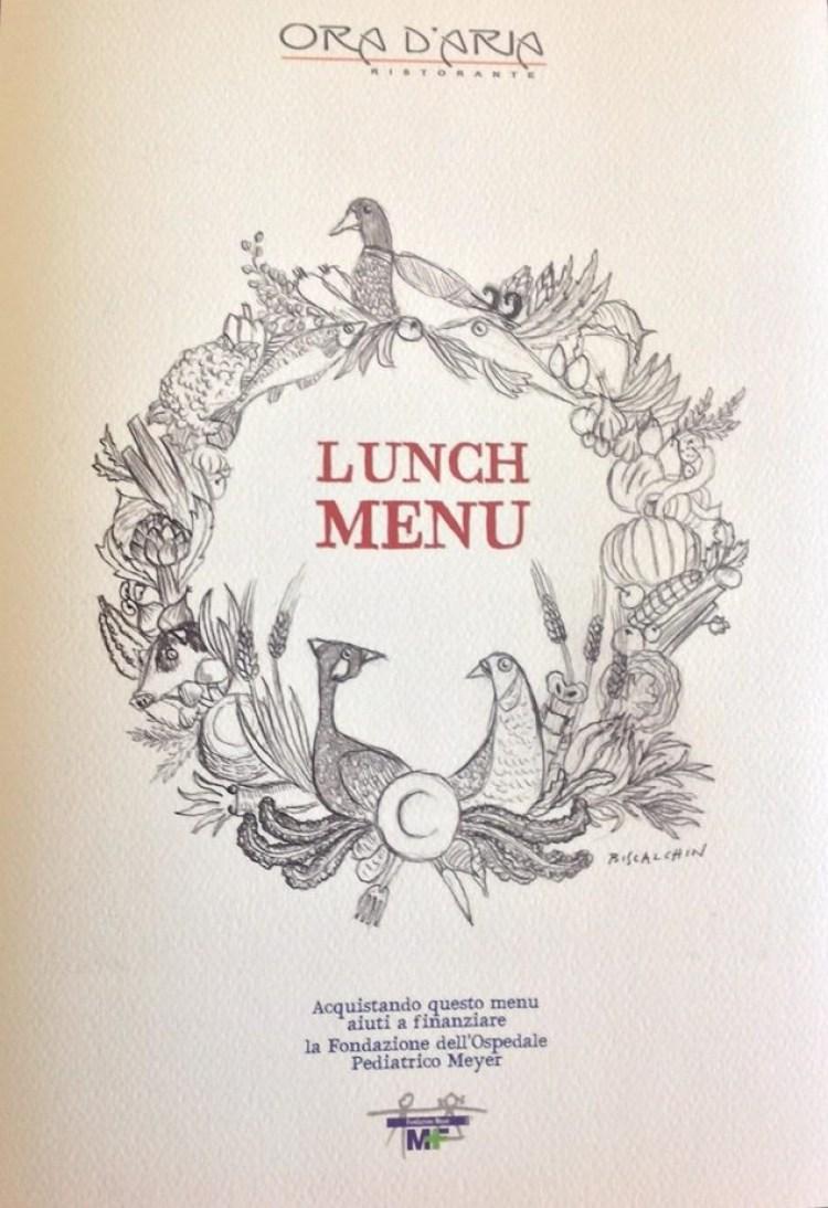 Lo chef Marco Stabile, una stella Michelin è il responsabile del ristorante stellato Ora d'Aria a Firenze, in via dei Georgofili