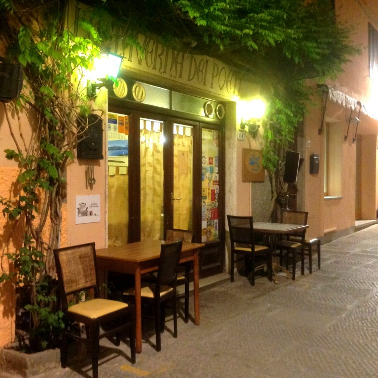 la Taverna dei Poeti è un risotrante da Capoliveri all'isola d'Elba