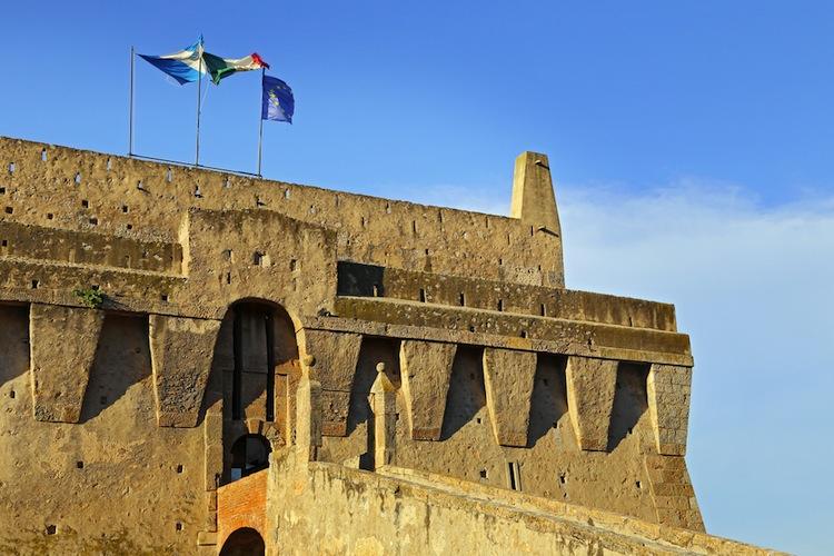 La fortezza di Porto Santo Stefano