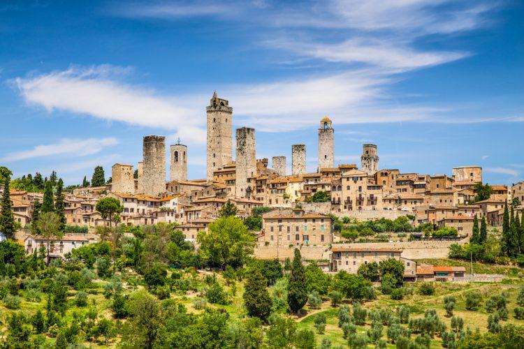 Nella classifica dei borghi italiani più belli la Toscana si posiziona per prima con San Gimignano capolista e 7 borghi presenti in lista su 35 totali.