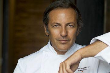 """Filippo La Mantia, cuoco della trasmissione """"The Chef"""" in onda su la5, cucinerà un menù speciale al ristorante Simbiosi di Firenze il 5/3/2017"""