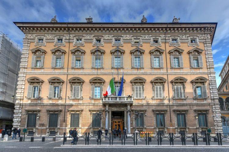 Palazzo Madama, un tempo Palazzo Salviati, è oggi la sede del Senato della Repubblica italiana