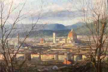 Allo Spazio Arte Dinamico mostra di Mario Minarini, pittore toscano che nel 2008 ha vinto il Fiorino d'argento per l'opera Manichino Uomo