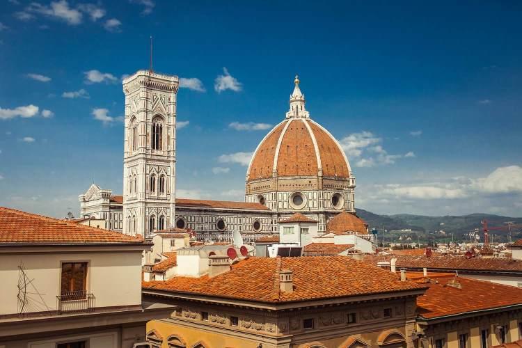 La cupola del Duomo di Firenze è stata progettata dall'Architetto Filippo Brunelleschi