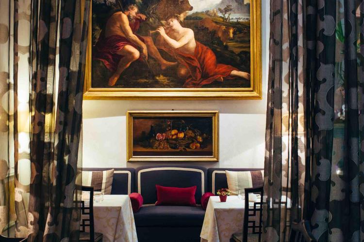 Winter Garden by Caino è il ristorante del luxury hotel a Firenze St Regis Florence, in piazza Ognissanti.