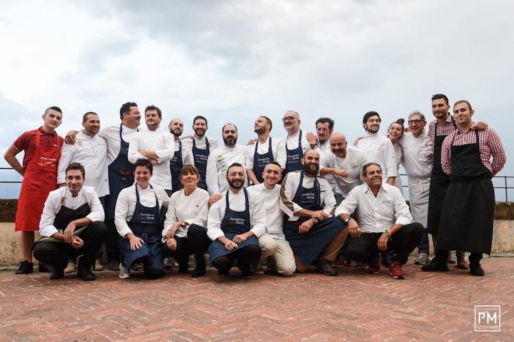 Il 6 settembre al Forte Belvedere si terrà la terza edizione dell' Italian Chef Charity Night, dedicata quest'anno alla lotta al femminicidio